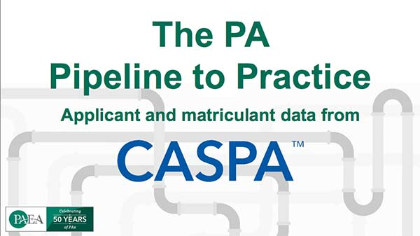 Applicant and Matriculant Data from CASPA
